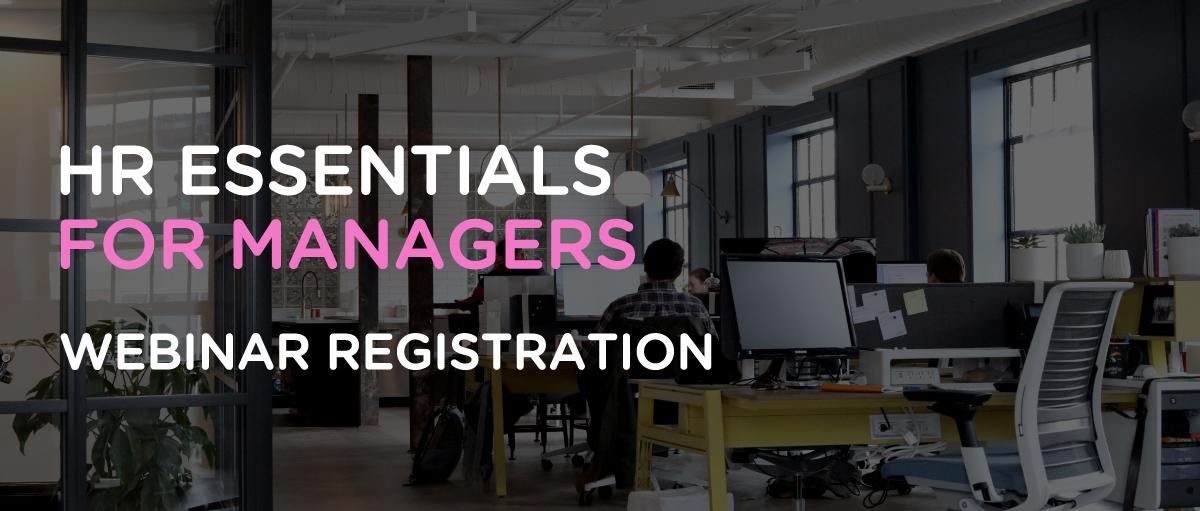 HR Essentials Webinar