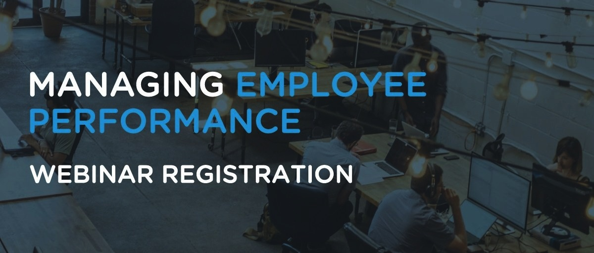 Managing Employee Performance Webinar
